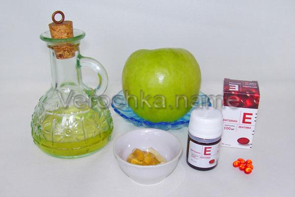 Домашняя маска из меда и яблок для рук