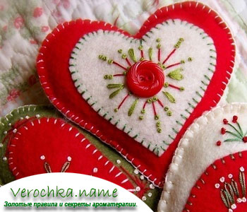 Как сделать сердечко из фетра своими руками